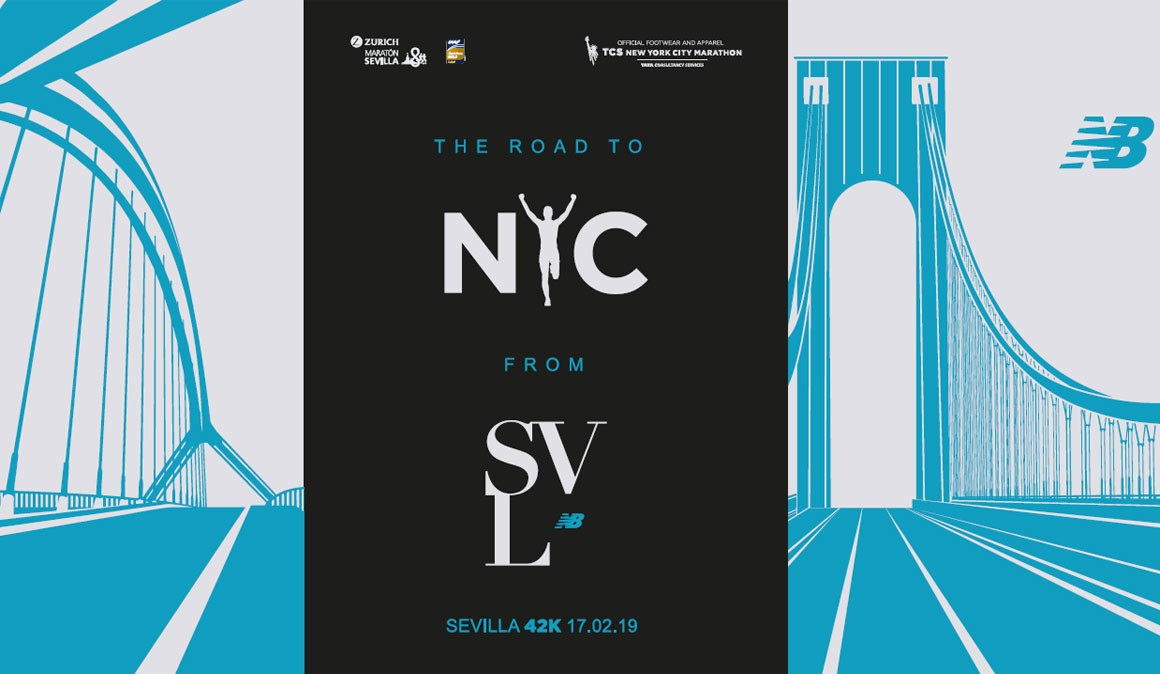 Del maratón de Sevilla al de Nueva York con New Balance