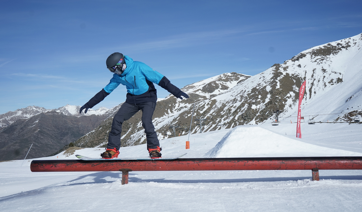 Snowboard: ¡a por tu primer rail!