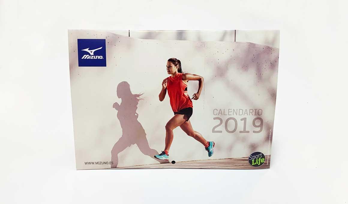 Así el Calendario Fitness que regalamos este mes con Sport Life