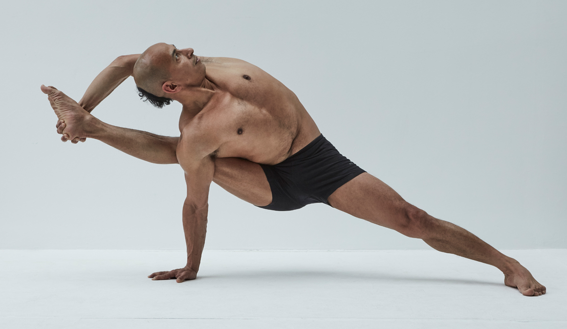 Yoga for Runners, Vishwamitrasana o la postura del sabio Vishwamitra , un estiramiento para corredores