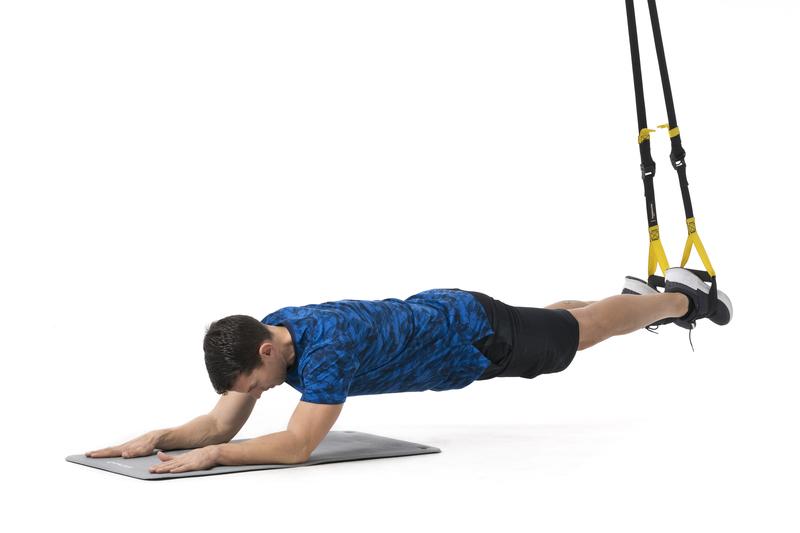3 planchas con TRX imprescincibles para tu core