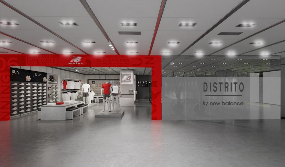 New Balance estrena en España el primer box en un centro comercial