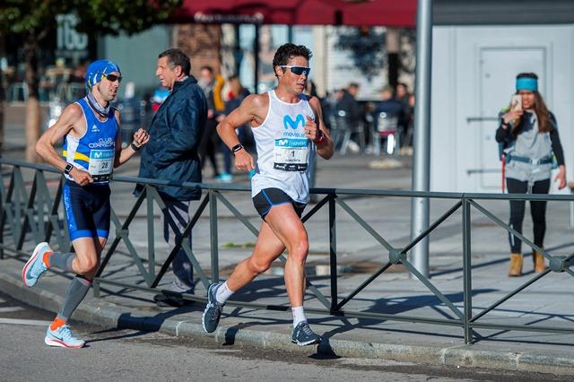 Javi Gómez Noya correrá el Movistar Medio Maratón de Madrid