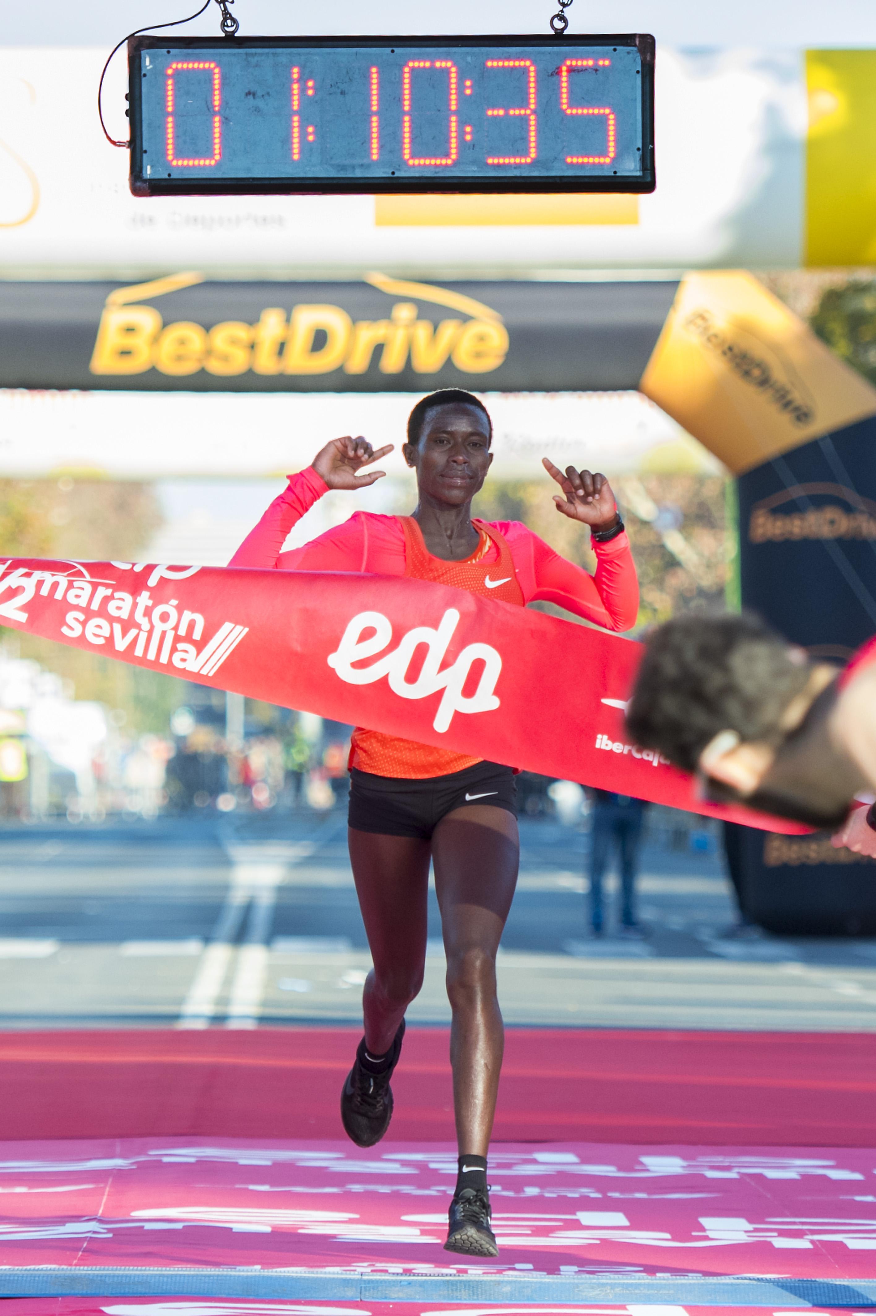 Nuevo récord en el Medio Maratón de Sevilla