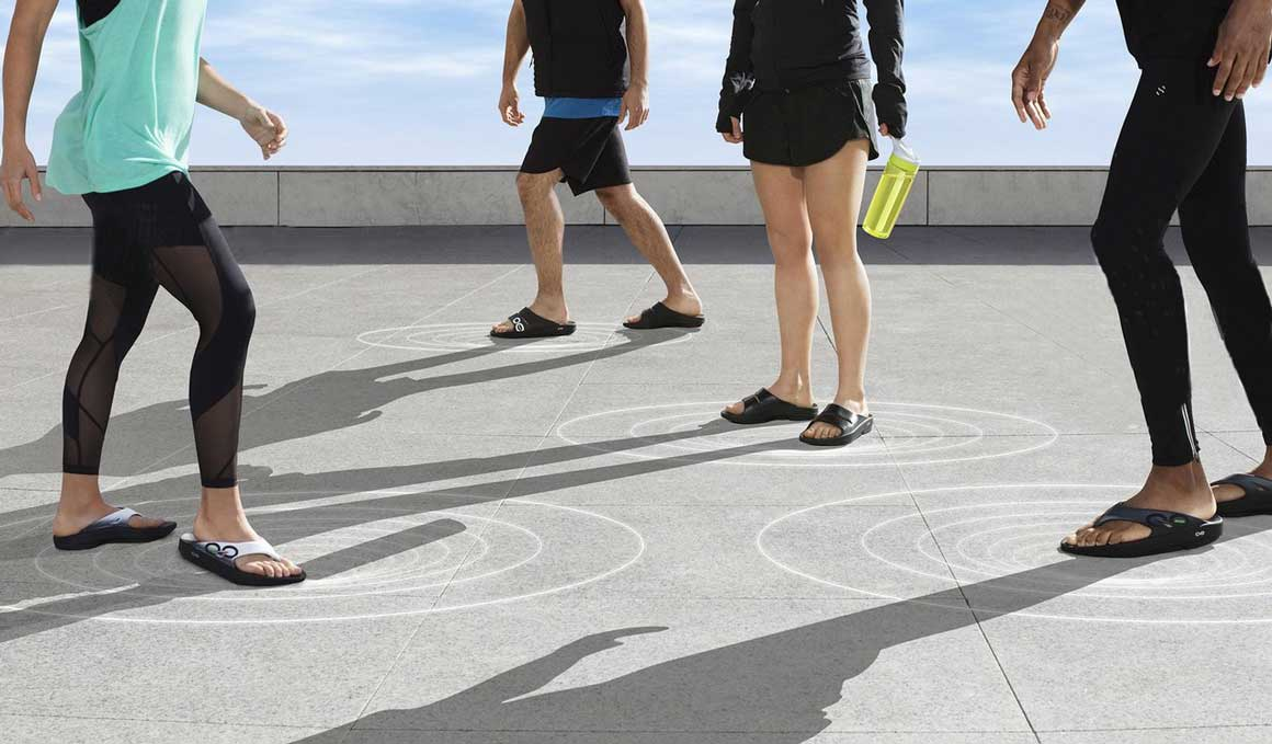 Las sandalias que te recuperan a tope después de correr