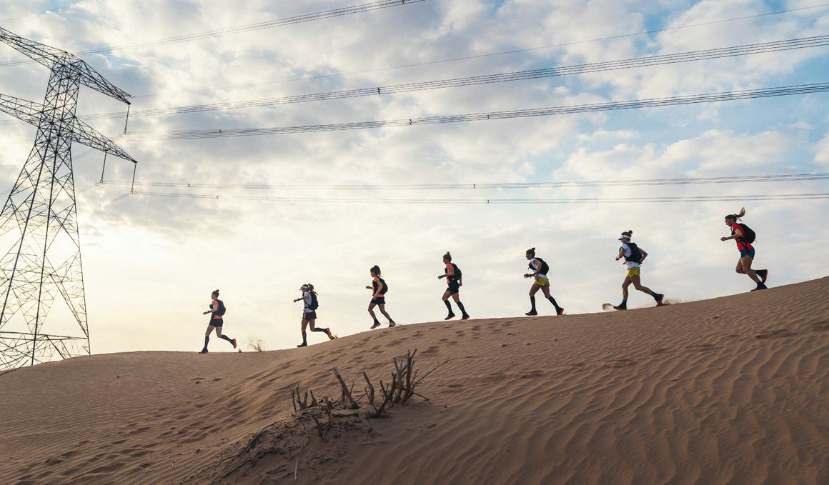El reto de un equipo de corredoras de correr 4 días y 30 horas entre Dubai y Omán
