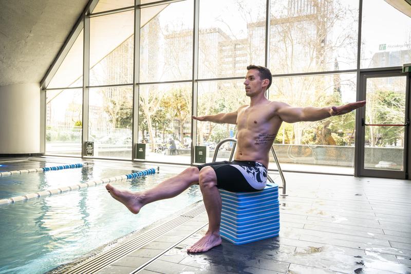 Entrenamiento de fuerza y natación. ¡Sí se puede!