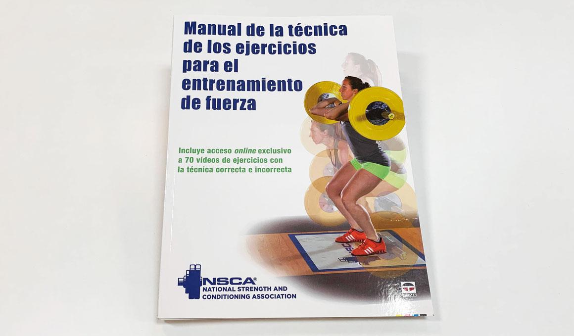 El libro que te muestra los ejercicios en movimiento