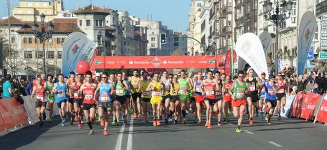 ¡Arranca el Medio Maratón de Santander!