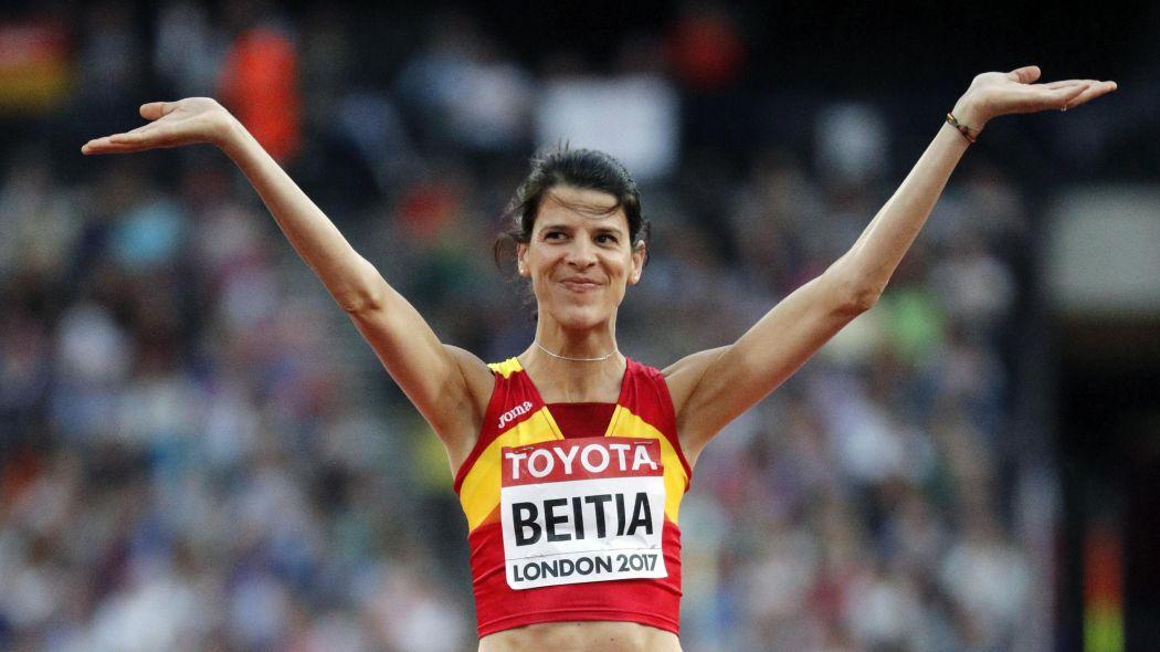 Ruth Beitia, medalla de bronce en los Juegos Olímpicos....casi 7 años más tarde