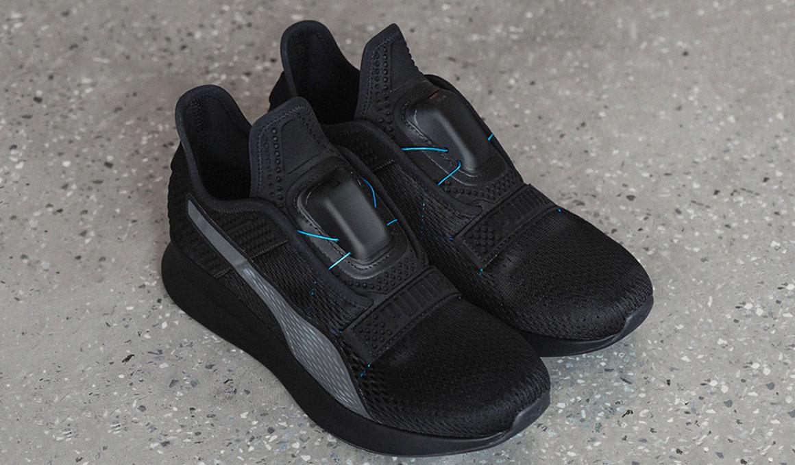 Puma presenta las zapatillas sin cordones que se atan solas
