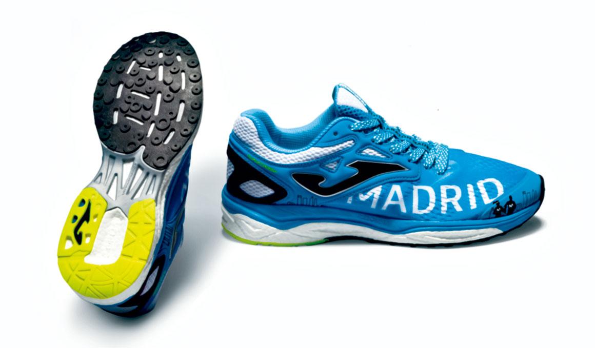 Joma lanza dos zapatillas exclusivas para la Media de Madrid