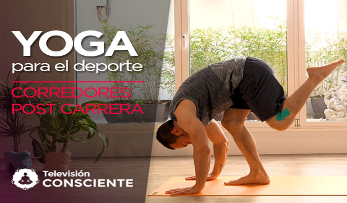 Secuencia de yoga en vídeo para corredores: la post carrera