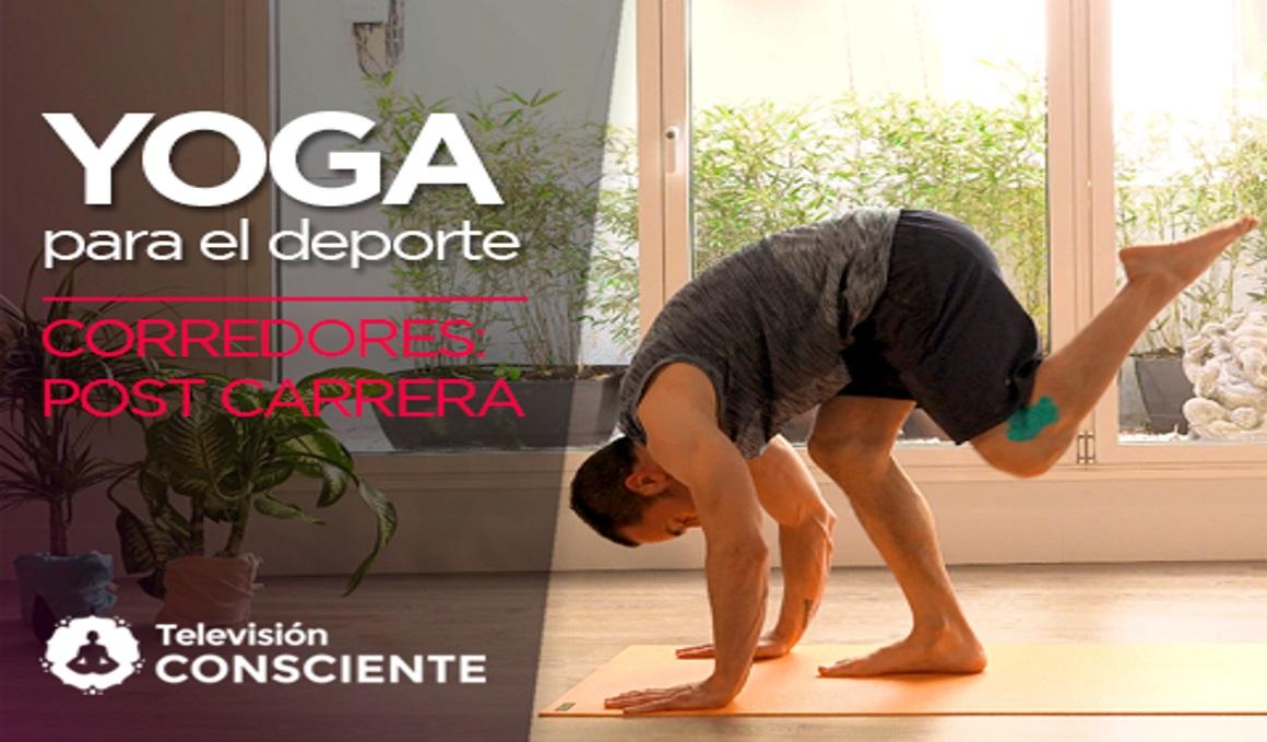 Secuencia de yoga en vídeo para corredores: la post carrera