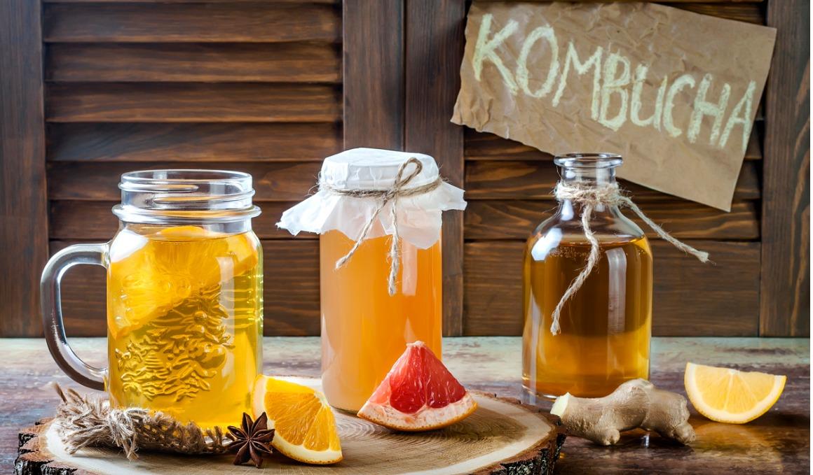 5 beneficios del té kombucha