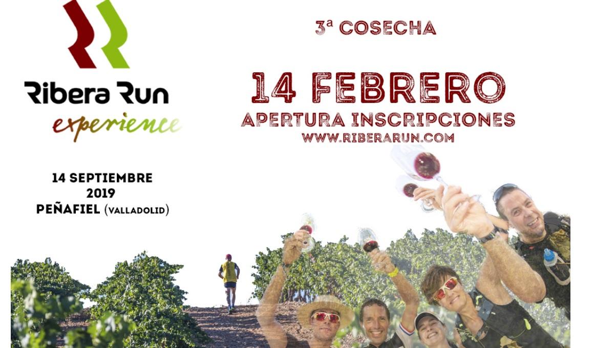 Peñafiel acogerá la III Ribera Run Experience, la carrera que transcurre entre bodegas