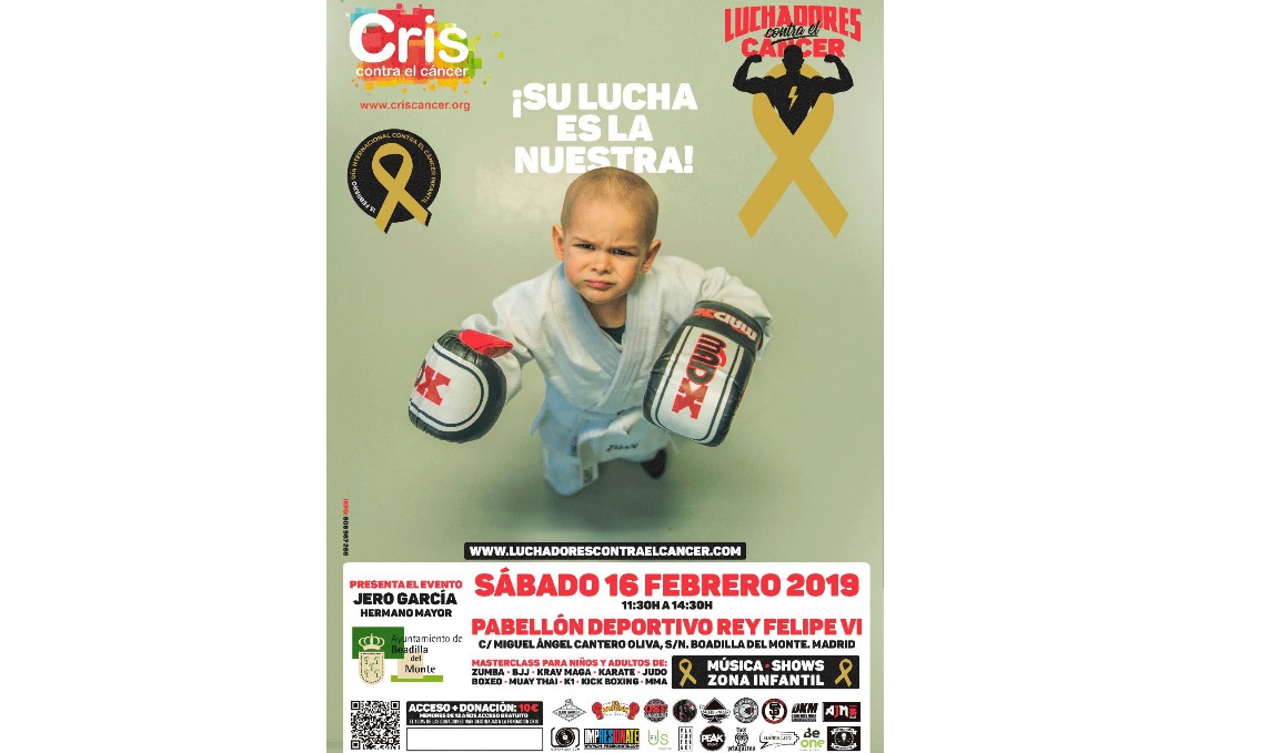 Artes marciales contra el cáncer infantil