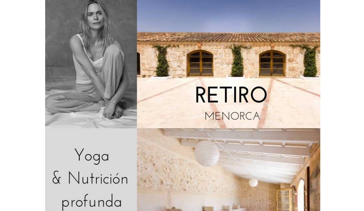 Retiro de Yoga y Nutrición Profunda con Verónica Blume en Menorca