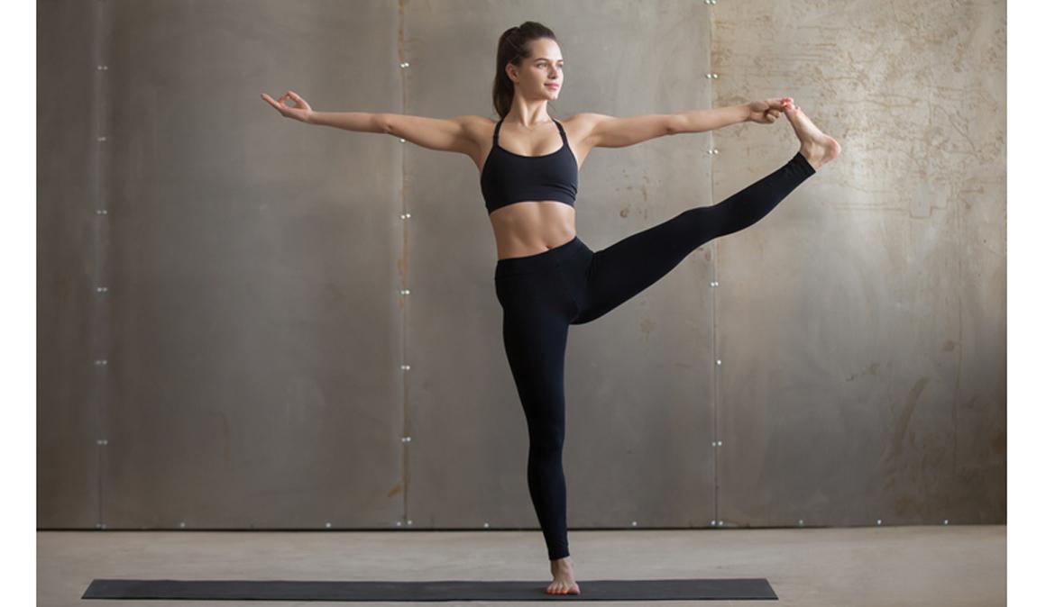 Puntos de apoyo de los pies en yoga