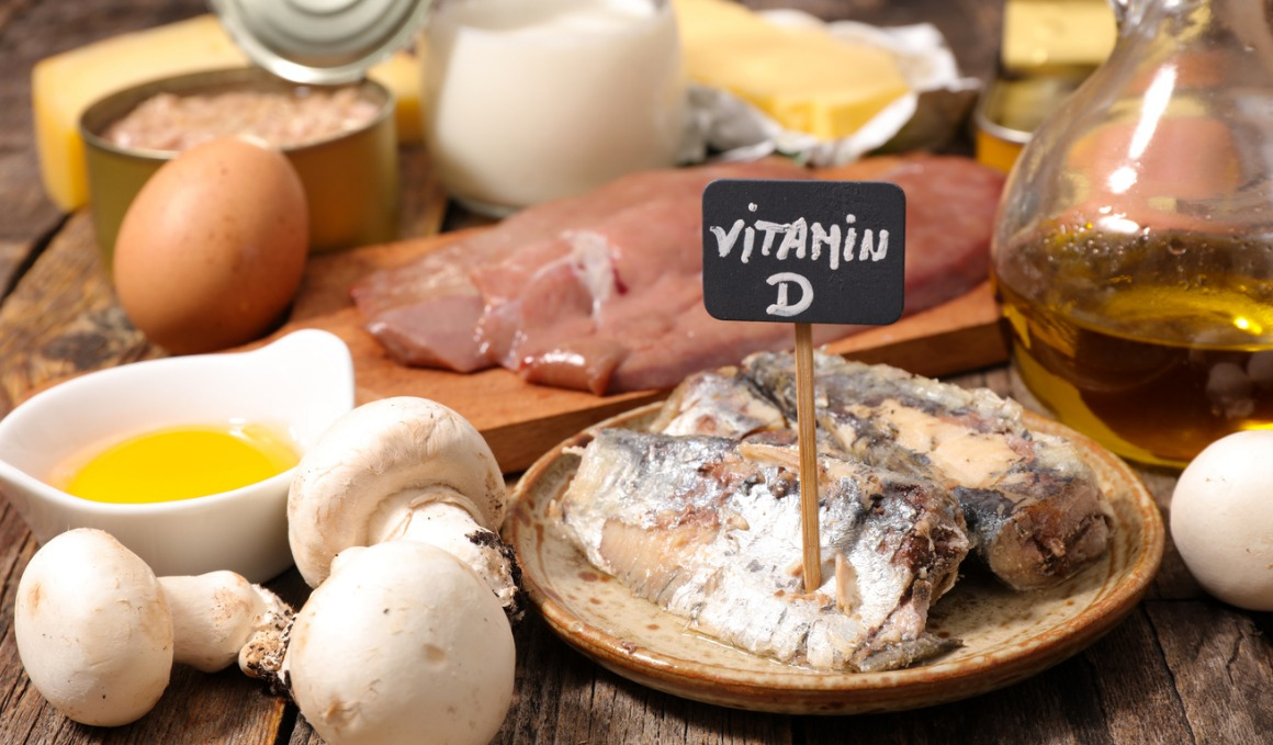 Alimentos con vitamina D y calcio
