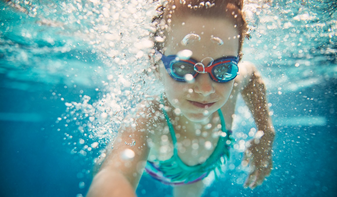 Los ejercicios de natación más adecuados para niños