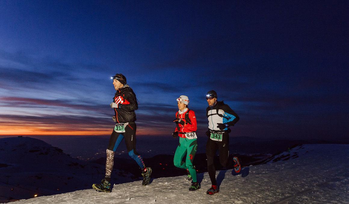 Así fue el Snow Running 2019 de Sierra Nevada