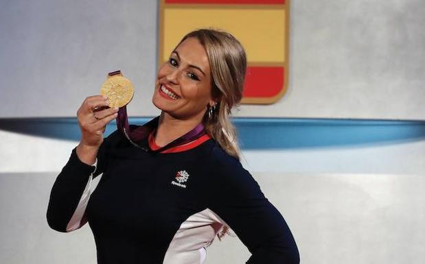 Lydia Valentín ya tiene su medalla de oro olímpica