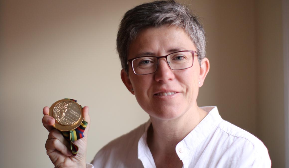 Descubriendo a Maribel Martínez de Murguía, un oro olímpico en #mujeresqueinspiran