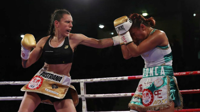 Joana Pastrana, tricampeona del mundo de boxeo
