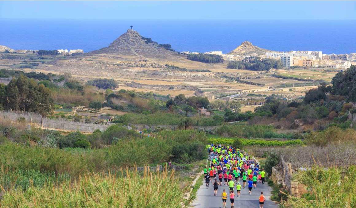 Un fin de semana de deporte con la media maratón de Gozo
