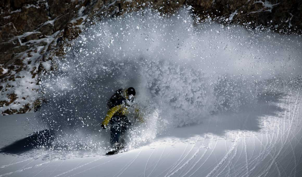 ¿Te atreves con el slalom en snowboard?
