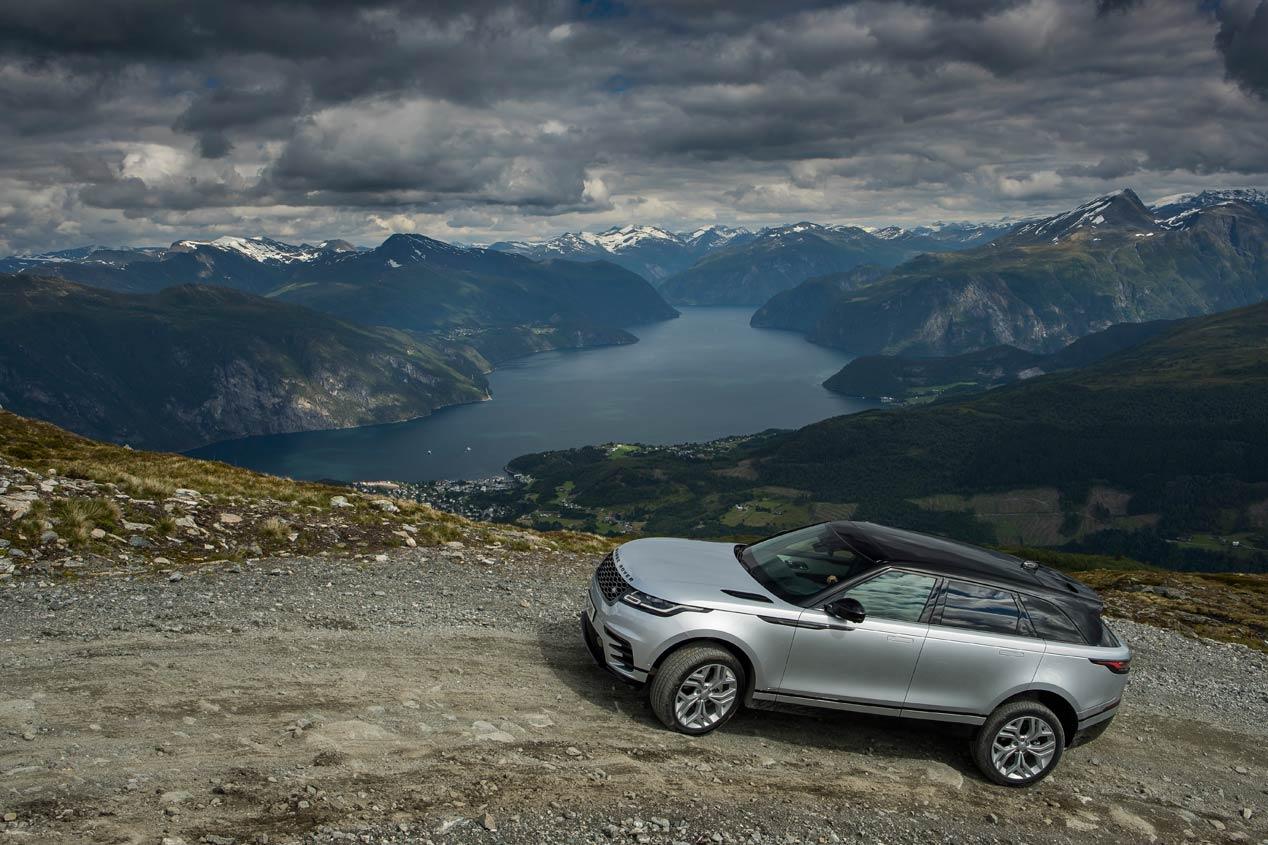 Un SUV diferente... ¡Y para deportistas aventureros! Así es el Range Rover Velar