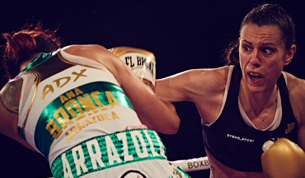 """Joana Pastrana: """"Preparar un combate son 3 meses de casa al gimnasio y del gimnasio a casa"""""""