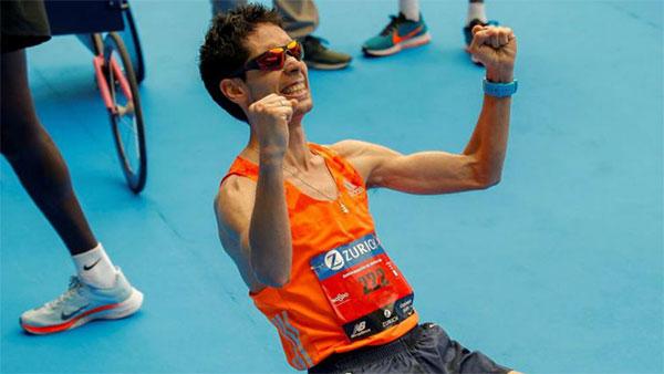 Javi a dar Guerra en el Maratón de Madrid