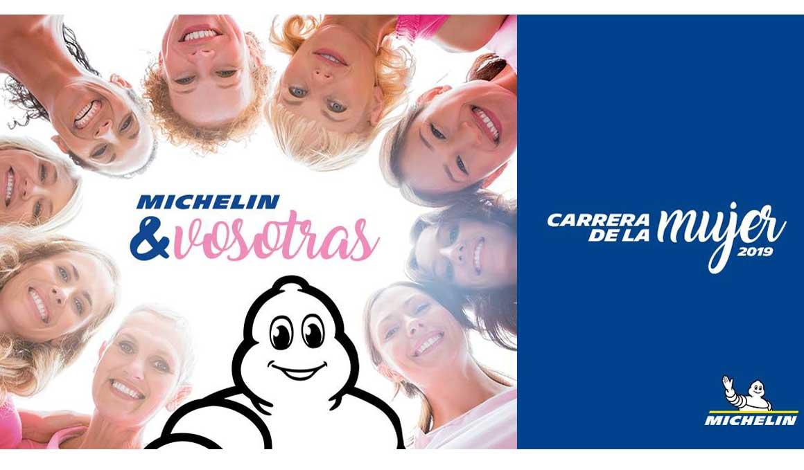 Michelin, nuevo patrocinador de la Carrera de la Mujer 2019