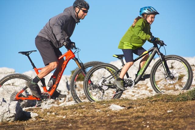 Orbea presenta su primera bicicleta eléctrica para niños