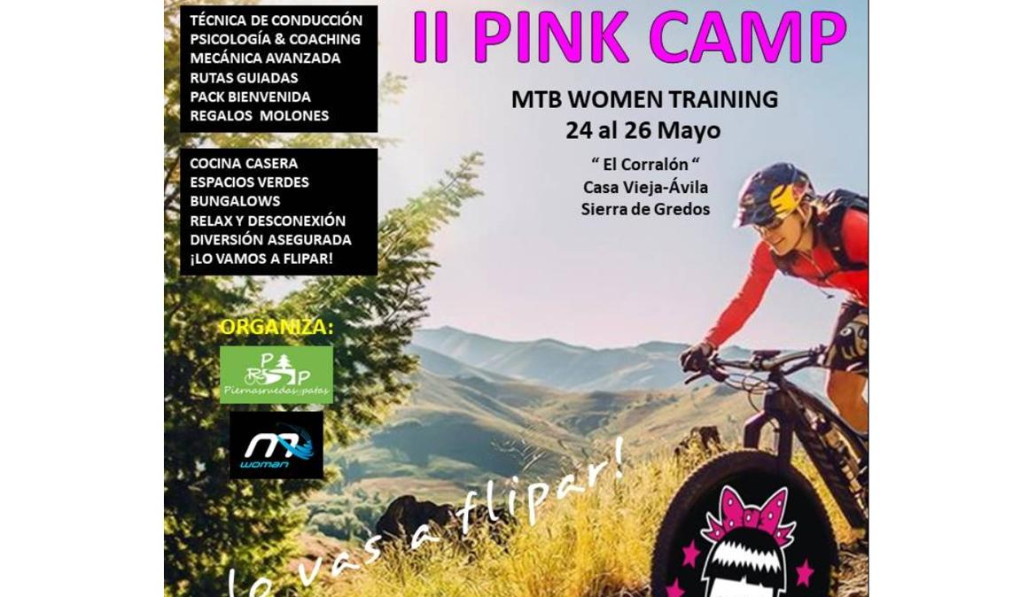 II Pink Camp MTB en Ávila