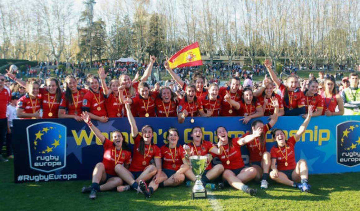España, campeona de Europa de rugby femenina por cuarta vez consecutiva