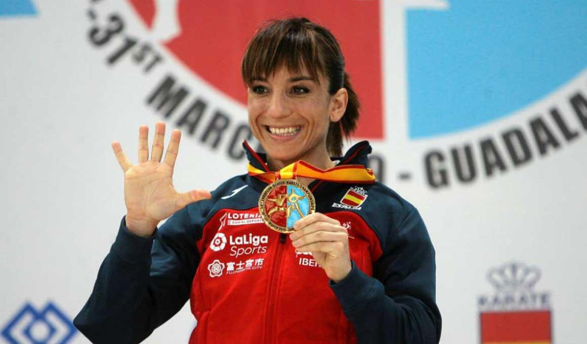 Tres medallas de oro para España en el Europeo de Kárate
