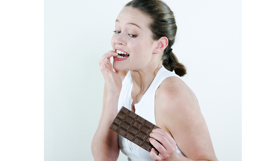 Chocolate para aliviar cólicos menstruales