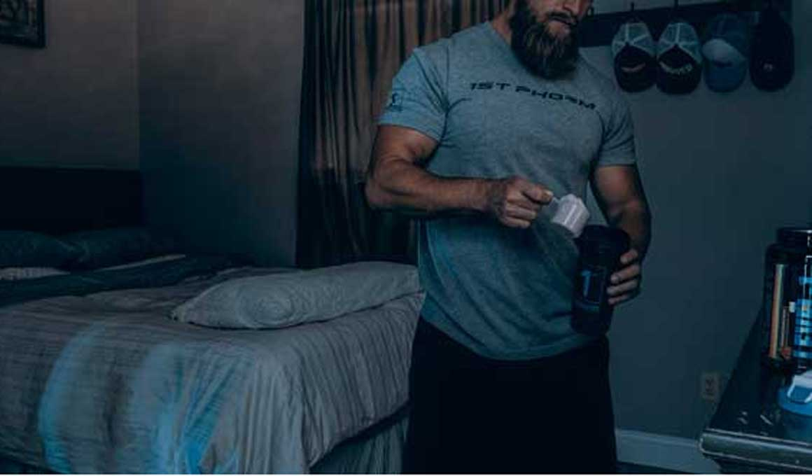 ¿Un batido de proteínas ayuda a dormir?