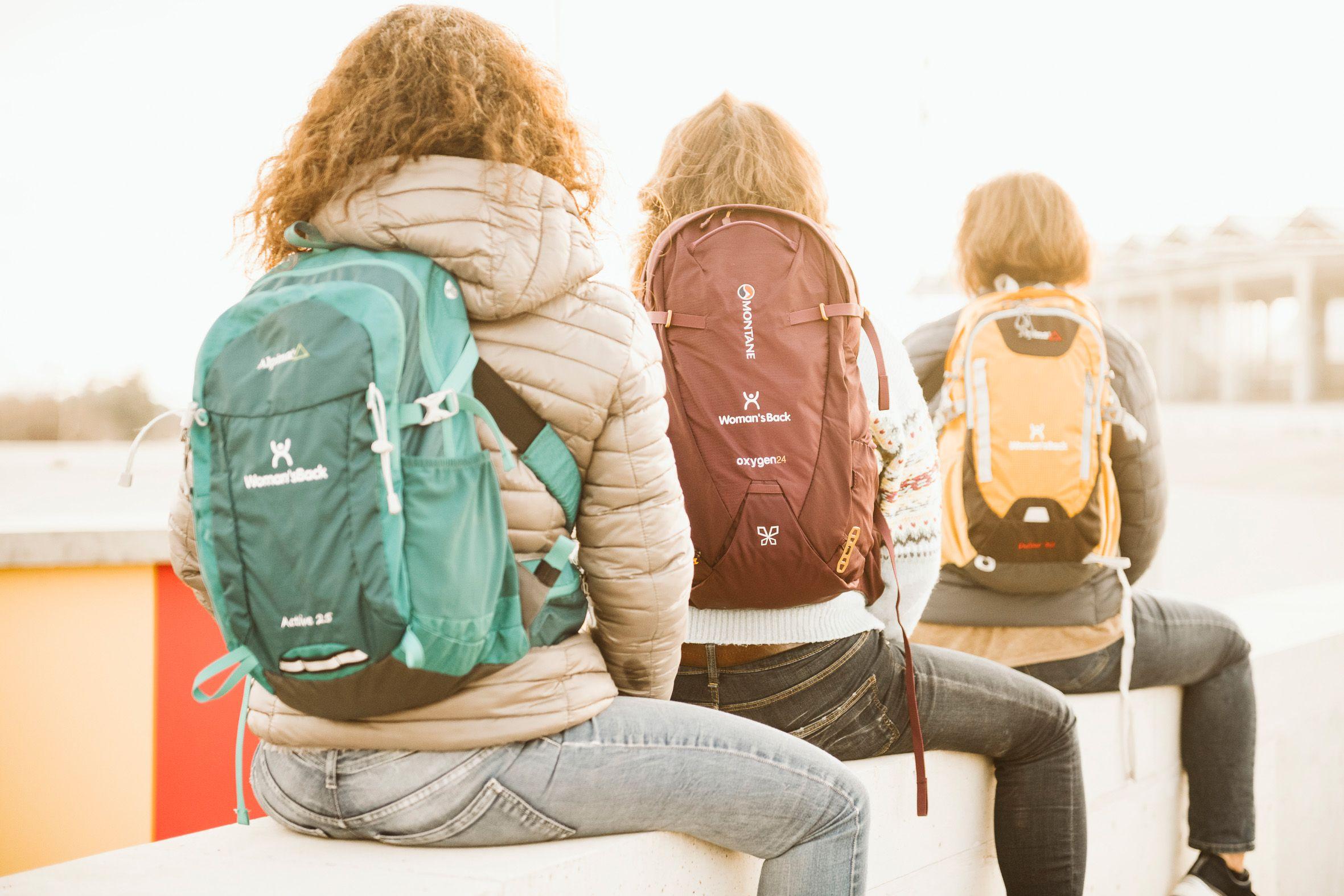 La primera mochila diseñada especialmente para mujeres que han pasado por un cáncer de mama