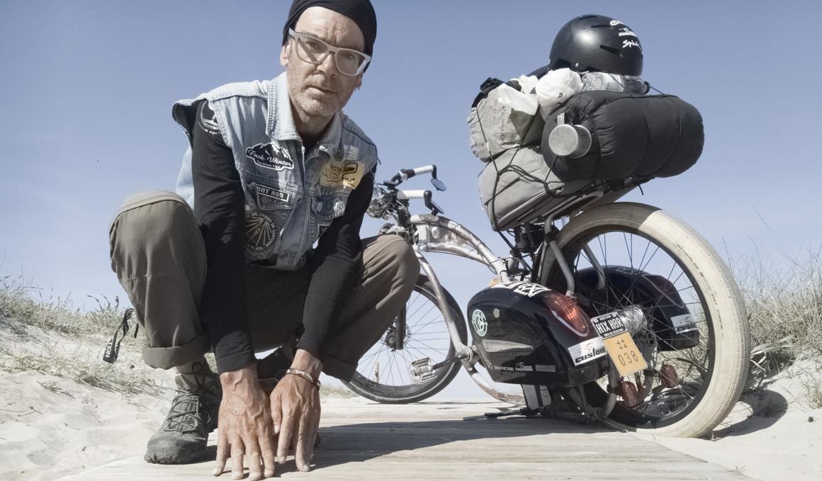 7.000 km en bici por la hidradenitis supurativa