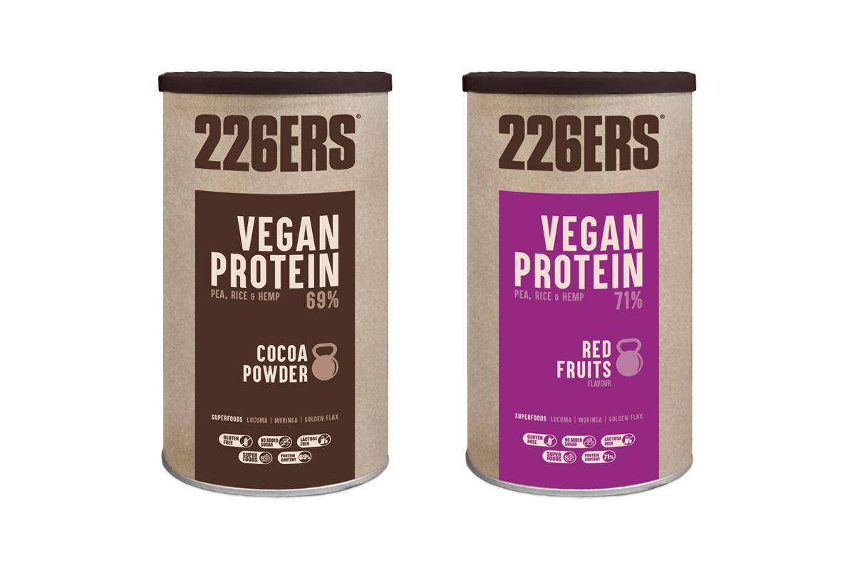 El combinado de proteína de guisante, arroz y cáñamo que te ayuda a la construcción muscular