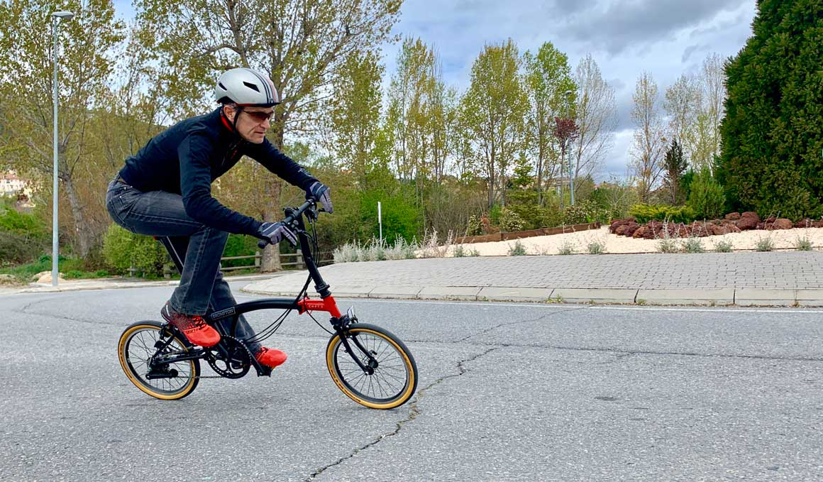 La bici plegable con alma de Vuelta, Giro y Tour