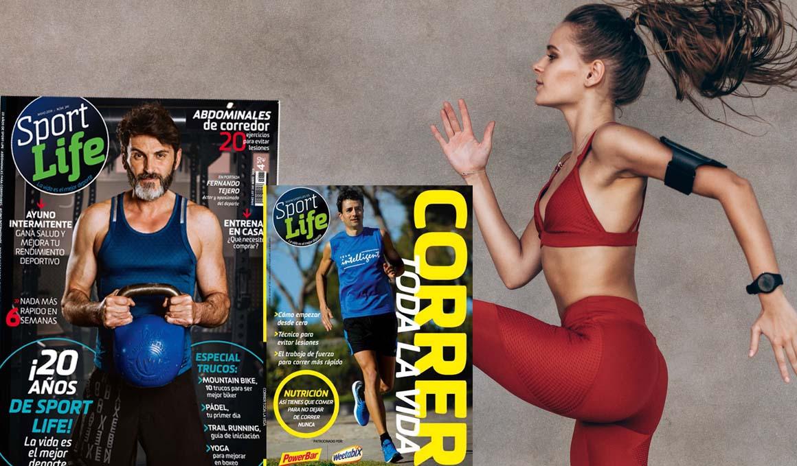 ¡Sport Life cumple 20 años y lo celebramos en el número de mayo!
