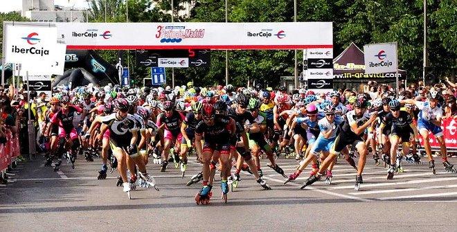El maratón de Madrid...¡ahora toca en patines!