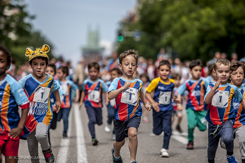 La mejor carrera para niños en Madrid
