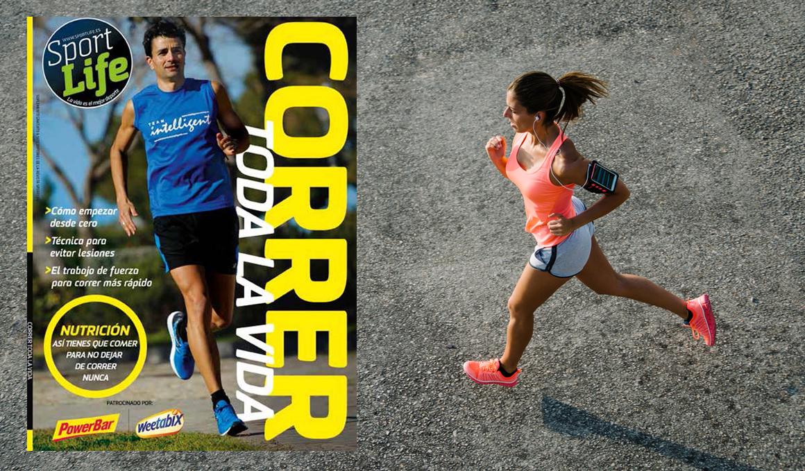 """""""Correr toda la vida"""", el libro para corredores populares que viene con la revista de mayo"""