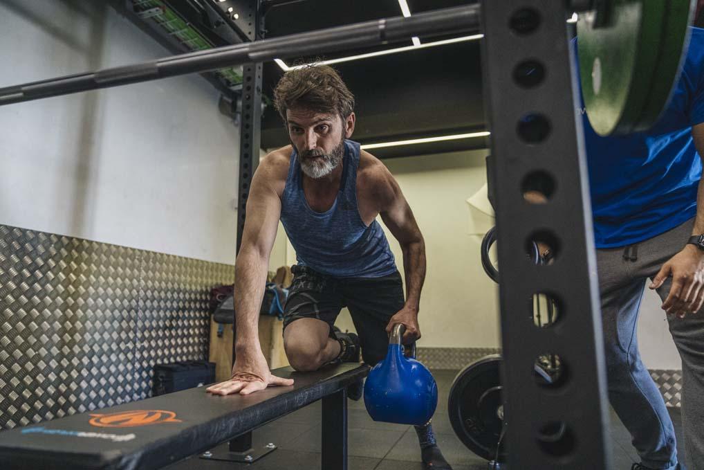 Así entrena Fernando Tejero, la portada de mayo de Sport Life